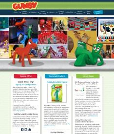 Gumby World Website